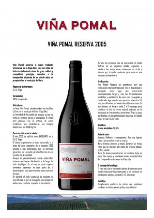 VIÑA POMAL RESERVA 2005