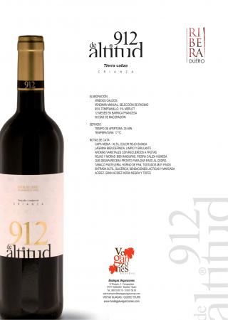 912 DE ALTITUD CRIANZA
