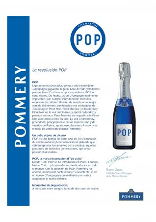 POMMERY POP 20CL