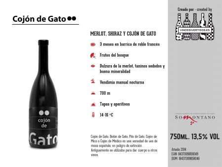 COJON DE GATO TINTO