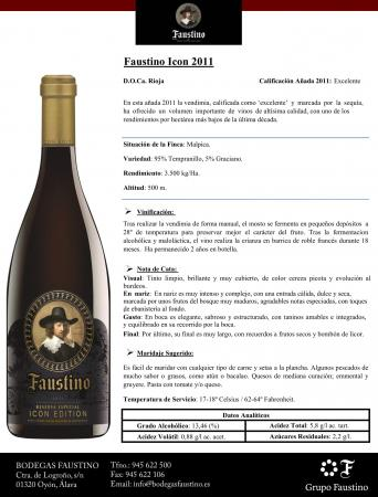 FAUSTINO ICON EDITION 2011