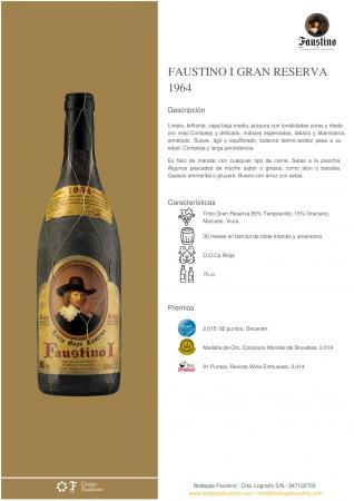 FAUSTINO I GRAN RESERVA 1964